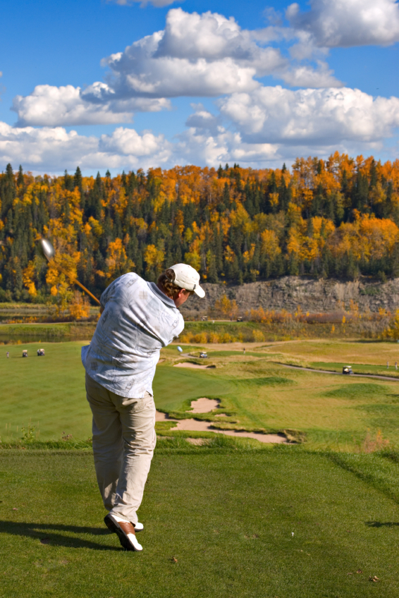 Golfing in the Autumn